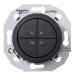 Schneider Electric-Renova 4-pienjännitepainike, musta