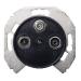 Schneider Electric-Renova R/TV/SAT-antennirasia X0, musta