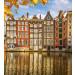 Kuvatapetti Dimex Houses In Amsterdam, 225x250cm kuva0