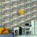 Tapetti Tapetit.fi What's Up 2 WU20645, 0,53x10,05m, monivärinen kuva3