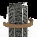 Sähkökiuas SAWO Wall Tower, 6kW, 5-8m³, kiinteä ohjauskeskus kuva3