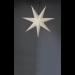 Valotähti Star Trading Frozen, 100cm, paperi, valkoinen kuva2