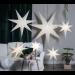 Valotähti Star Trading Frozen, 100cm, paperi, valkoinen kuva4