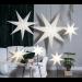 Valotähti Star Trading Frozen, 140cm, paperi, valkoinen kuva3
