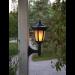 Aurinkokennopuutarhavalaisin Star Trading Flame LED, 155x630x155mm, musta kuva3