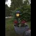 Aurinkokennopuutarhavalaisin Star Trading Flame LED, 155x630x155mm, musta kuva5