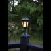 Aurinkokennopuutarhavalaisin Star Trading Flame LED, 155x630x155mm, musta kuva6