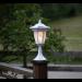 Aurinkokennopuutarhavalaisin Star Trading Flame LED, 155x630x155mm, valkoinen kuva3