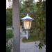 Aurinkokennopuutarhavalaisin Star Trading Flame LED, 155x630x155mm, valkoinen kuva4