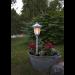 Aurinkokennopuutarhavalaisin Star Trading Flame LED, 155x630x155mm, valkoinen kuva5