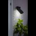 Aurinkokennoseinävalaisin Star Trading Wally LED, 80x55x110mm, musta kuva3