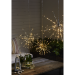 LED-valokoriste Star Trading Firework, Ø 40cm, IP44, hopea kuva2
