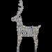 LED-valokoriste Star Trading Sarve, 600x1050x200mm, harmaa kuva2