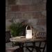 Ladattava LED-lyhty Star Trading Lucie, 190x340x170mm, valkoinen/pyökki kuva3
