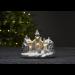 LED-pöytäkoriste Star Trading Churchville, 230x180x145mm, valkoinen kuva2