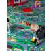Lastenhuoneen matto Autotiet, eri kokoja kuva1