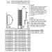 Sähkökiuas Sawo Wall Tower, 3kW (2-4m³), erillinen ohjauskeskus-2