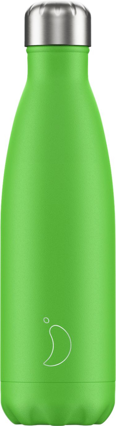 Juomapullo Chillys Neon Green, 500ml