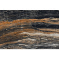 Lattialaatta Caisla Luxury Black River, 800x1200 mm, musta/ruskea