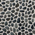 Qualitystone Pebble Swarthy Black Small, Interlock, verkolla, 300x300 mm