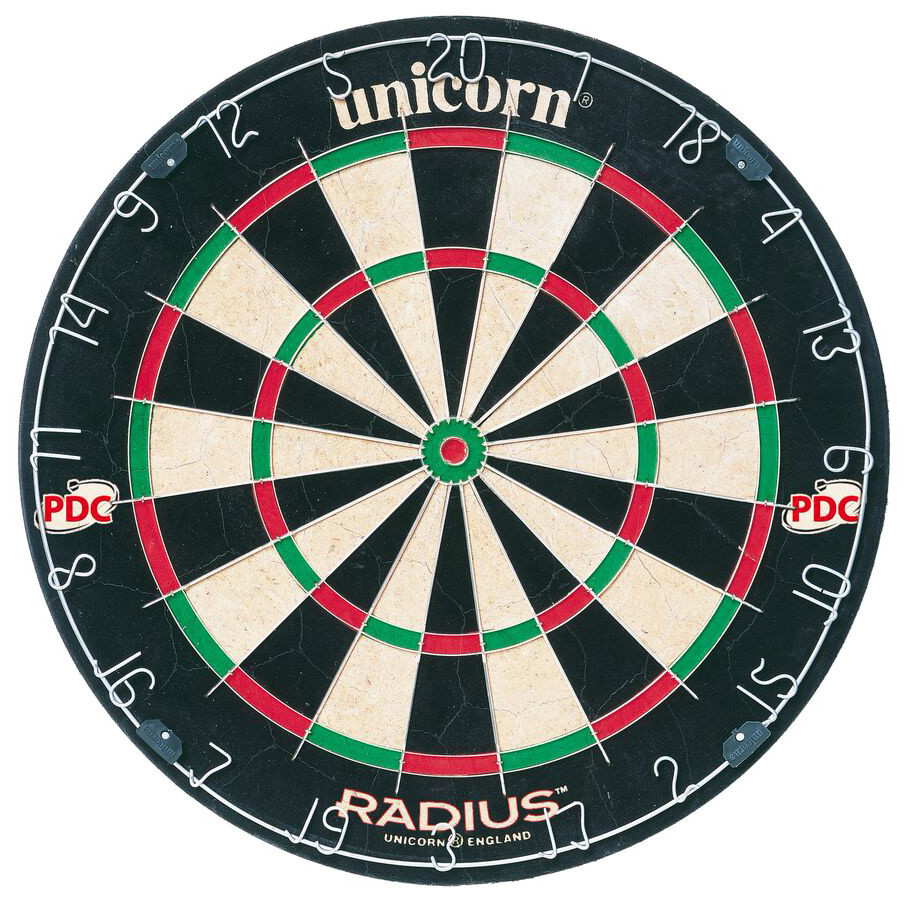 Unicorn-Darts-taulu Unicorn Radius