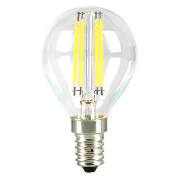 LED-lamppu P45 Pallo V-TAC VT-1996, 4W, 230V, 2700K, 400lm, IP20, Ø 45mm
