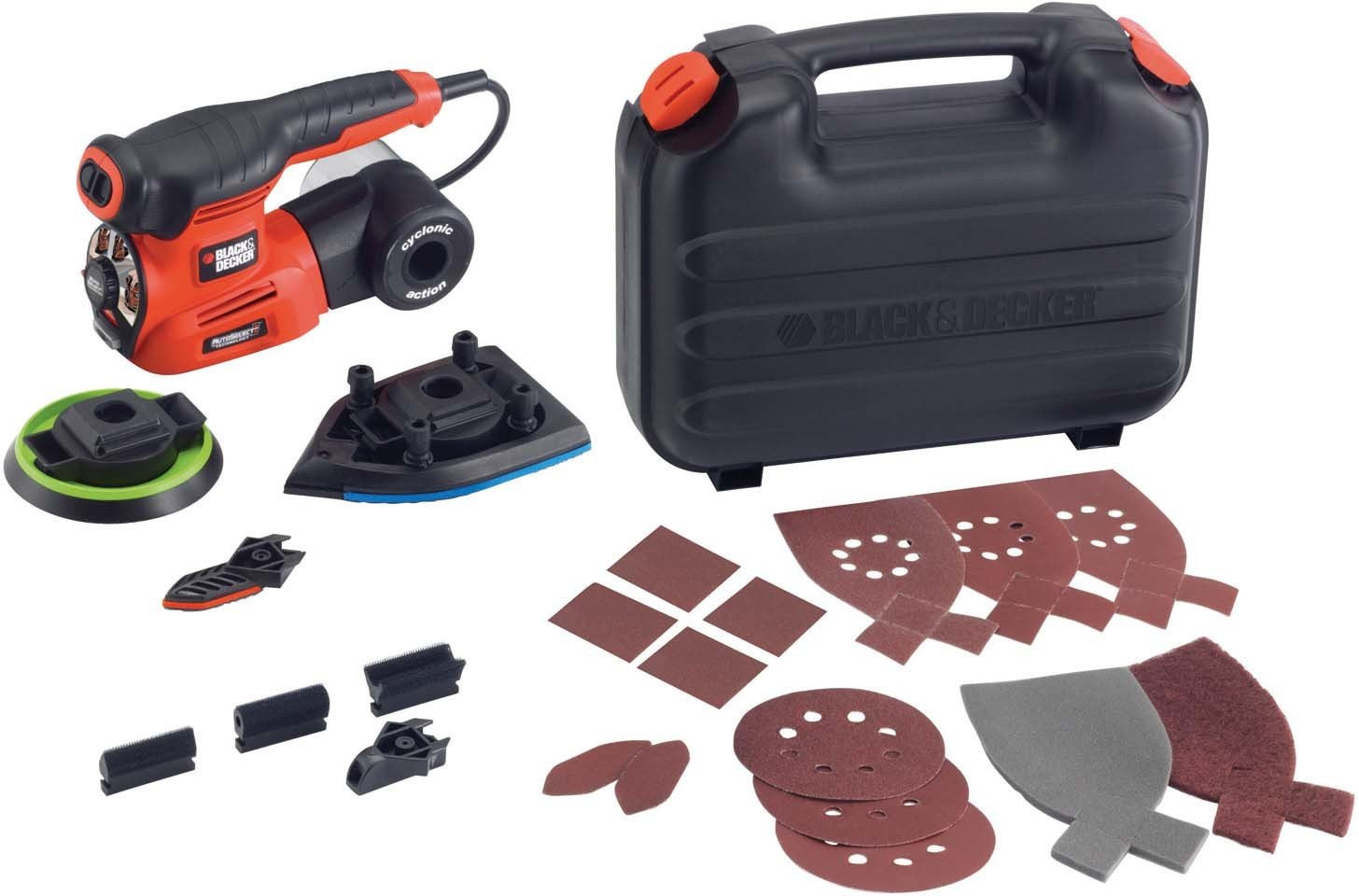 BLACK+DECKER-Multihiomakone BLACK+DECKER KA280K Autoselect® + 18 tarviketta-4