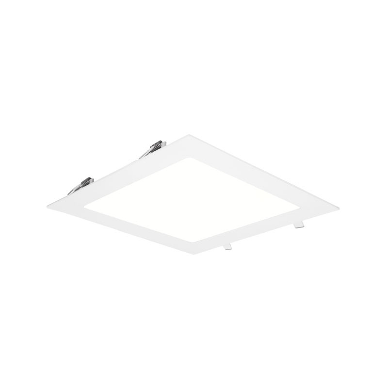 LED-alasvalo Limente DSI-18 Lux, 225x225x20mm, 18W, IP44, valkoinen