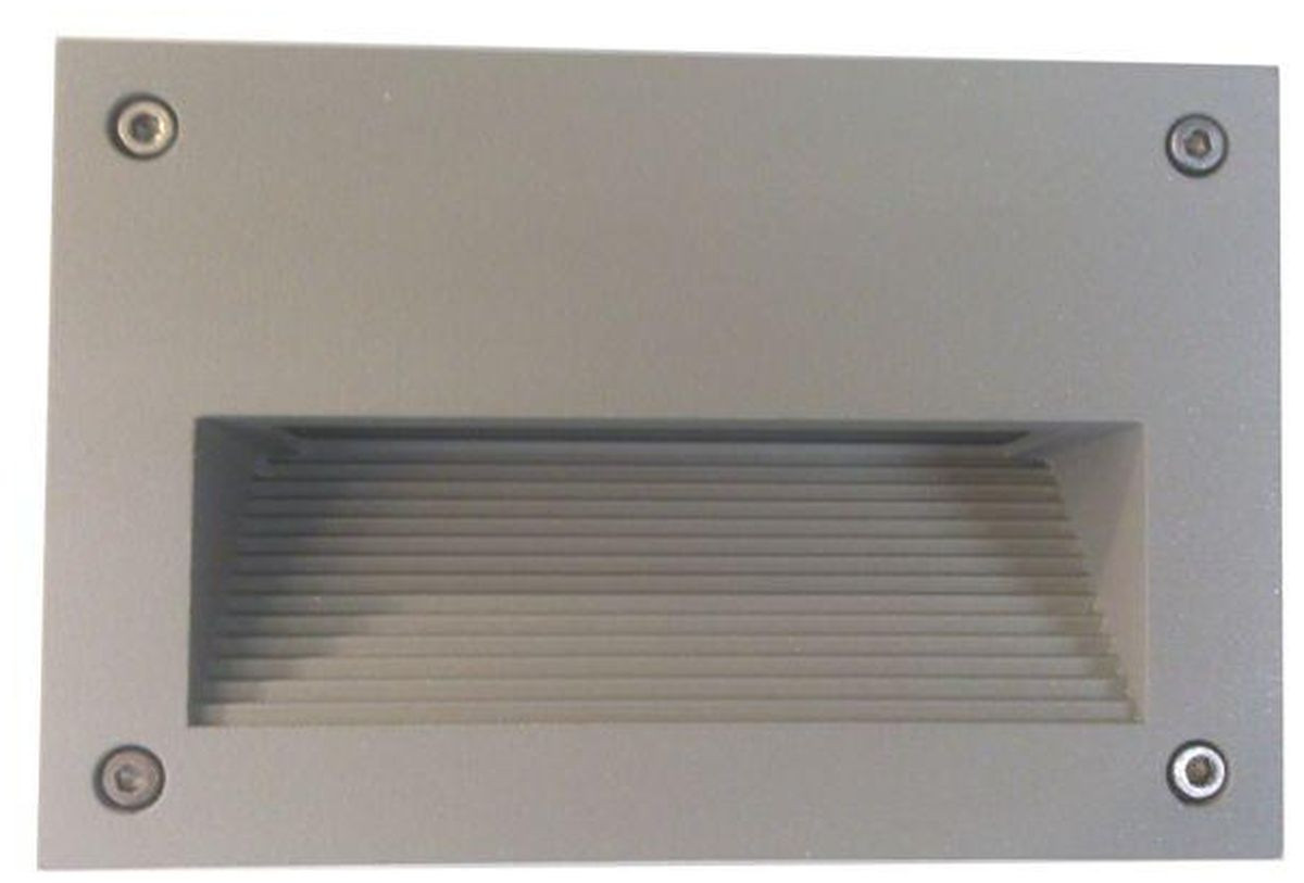 LED-muuri-/porrasvalaisin LedStore In-Wall Out 2, 3W, IP55