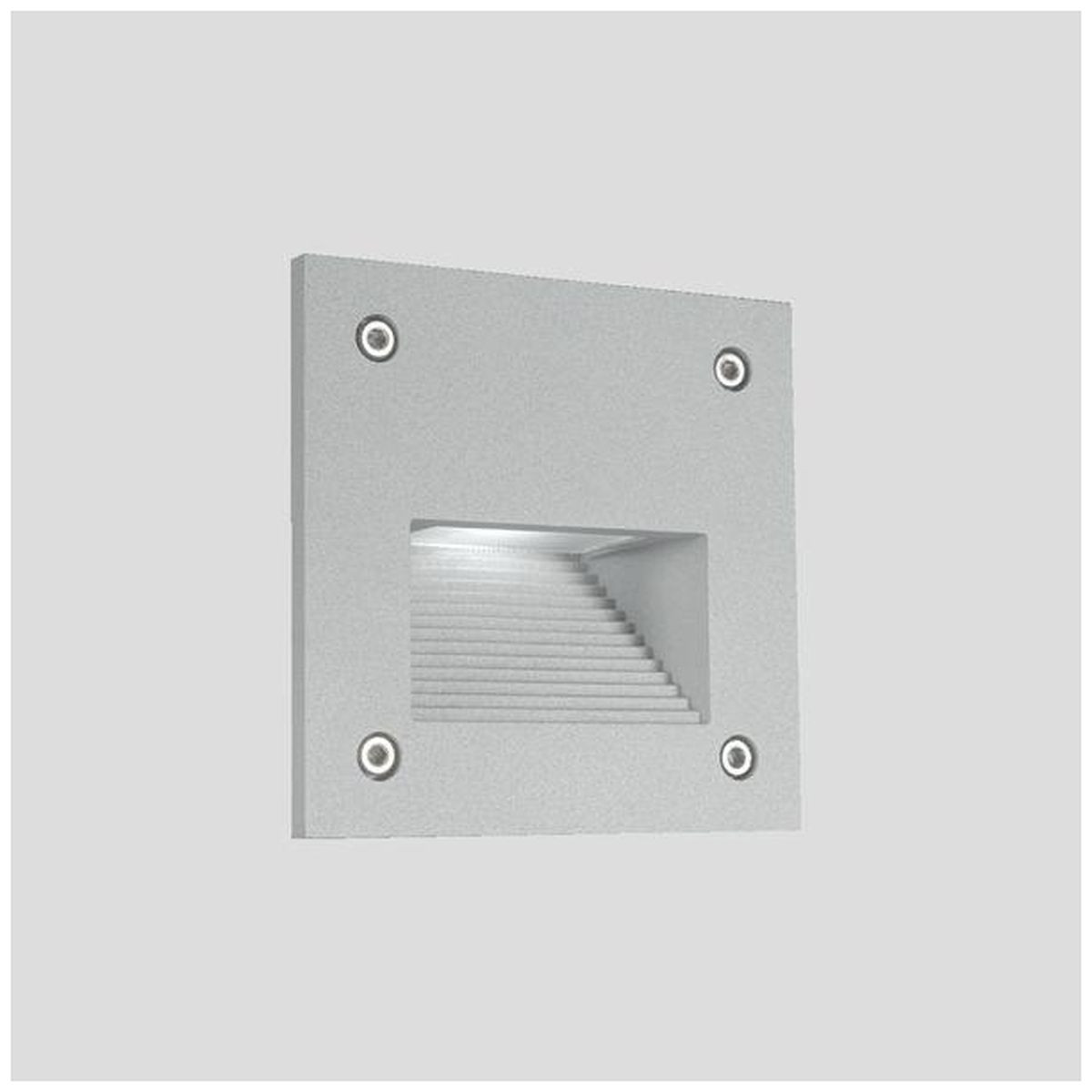 LED-muuri-/porrasvalaisin LedStore In-Wall Out, 3W, IP55