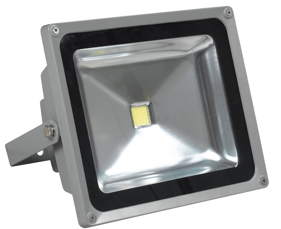 LedStore-LED-valonheitin LED Flood 50 IP65 50W 4000K 4000lm 225x126x185mm harmaa