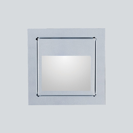 LedStore-LED-seinävalaisin In-Wall 3W 3000K 150lm 80x80x35mm hopea