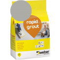 Saumalaasti Weber Rapid Grout, 16 Grey, 3 kg