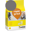Saumalaasti Weber Rapid Grout, 18 Dark grey, 3 kg