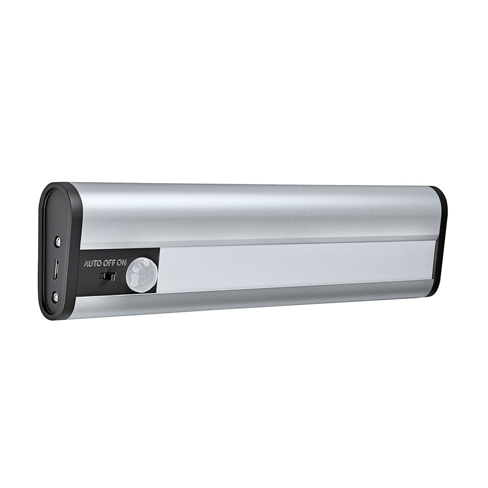 LED-kalustevalaisin Osram Linearled Mobile Usb 200, hopea