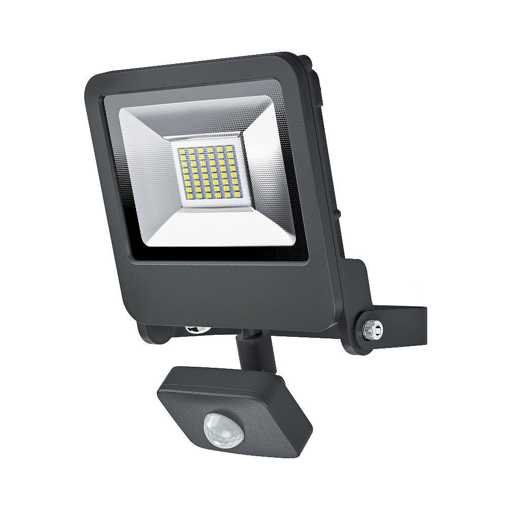 LED-seinävalaisin Osram Endura Flood Sensor 30W 830, harmaa