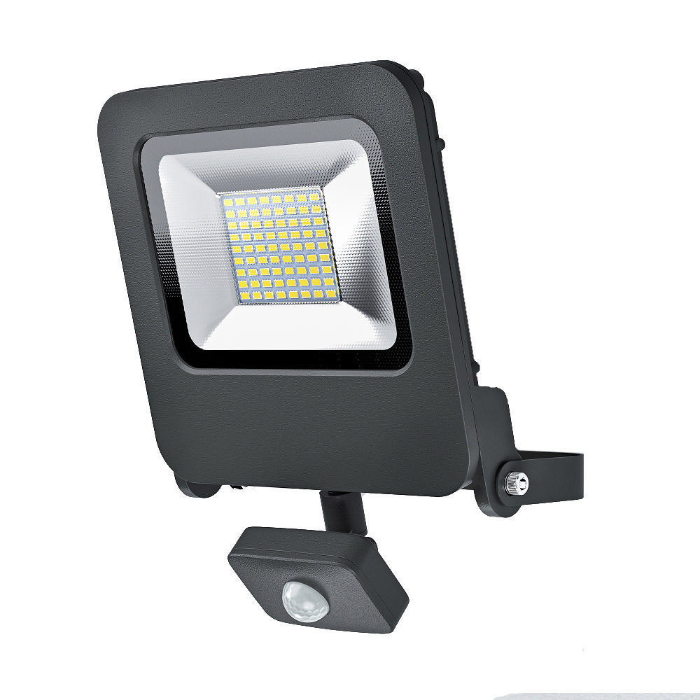 LED-seinävalaisin Osram Endura Flood Sensor 50W 830, harmaa