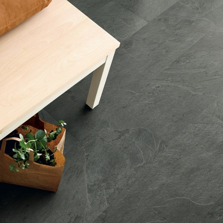 Vinyyli Pergo Tile Optimum Rigid Click, Grey Scivaro Slate, 610x303x5mm