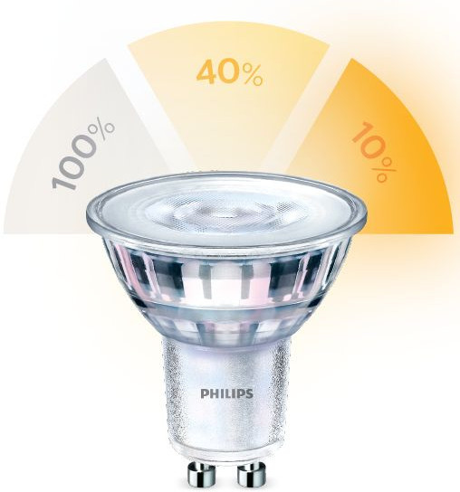 Philips-LED-lamppu Philips SceneSwitch, 5W (50W), GU10, 36D