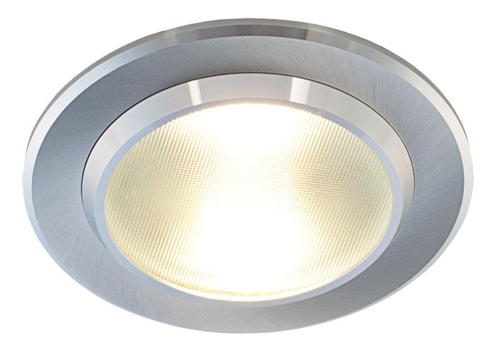 LED-alasvalo Smart 10W, 3000K, 600lm, IP44, Ø150x73mm, alumiini
