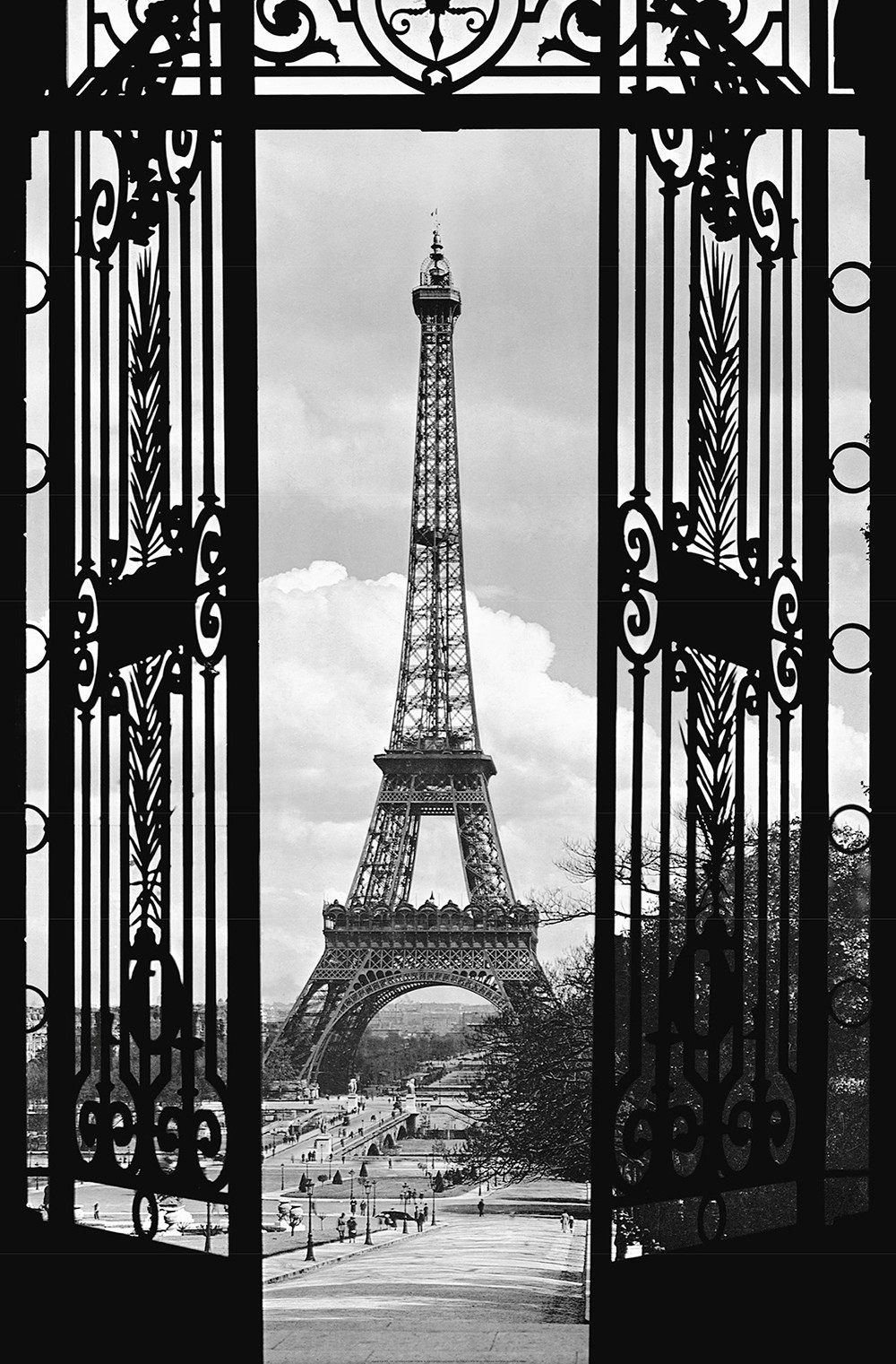 Juliste Giant Art 00644 La Tour Eiffel 115x175 cm