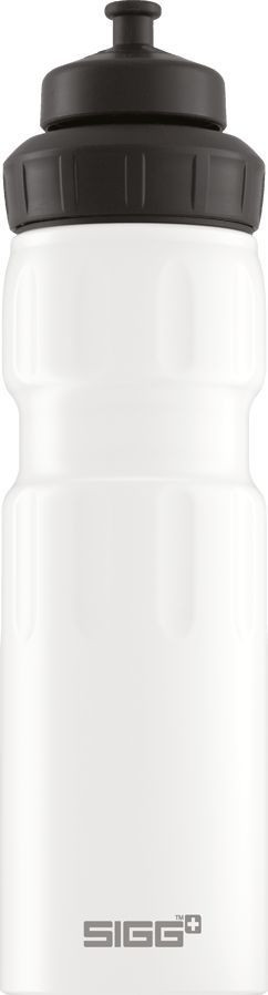 Juomapullo SIGG 0,75 L, WMB Sports, White Touch, alumiini