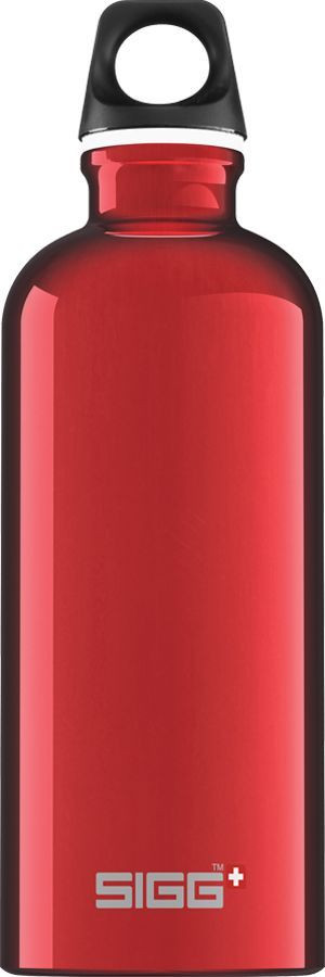 Juomapullo SIGG 0,6 L, Traveller Red, alumiini
