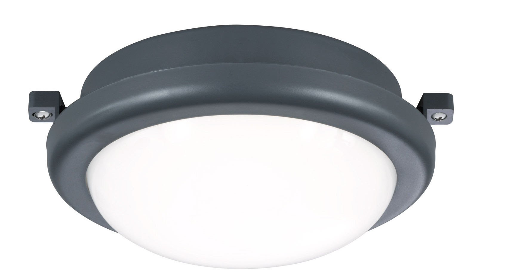 LED-kattovalaisin Trio Hamal Ø170x75 mm, antrasiitti IP54