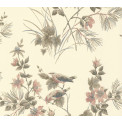 Tapetti 1838 Wallcoverings Rosemore, beige, 0,52x10,05m