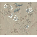 Tapetti 1838 Wallcoverings Rosemore, ruskea, 0,52x10,05m