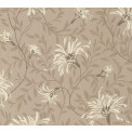 Tapetti 1838 Wallcoverings Fairhaven, ruskea, 0,52x10,05m
