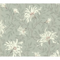 Tapetti 1838 Wallcoverings Fairhaven, siniharmaa, 0,52x10,05m