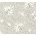 Tapetti 1838 Wallcoverings Fairhaven, harmaa/punainen, 0,52x10,05m