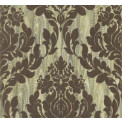 Tapetti 1838 Wallcoverings Faversham, vihreä/ruskea, 0,52x10,05m